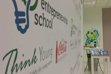p-consulting at entrepreneurship school of Think Young!