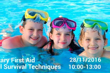 Personal Survival – First Aid in the sea for kids