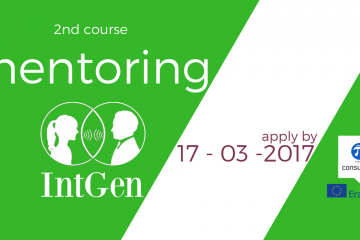 2nd mentoring course- extension for applications