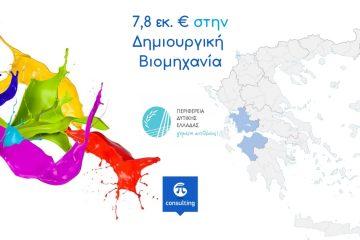 δημιουργική βιομηχανία στη Δυτική Ελλάδα