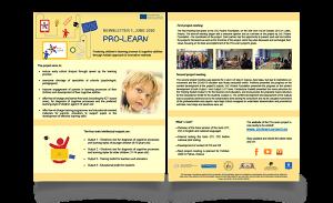 Prolearn newsletter mockup EN