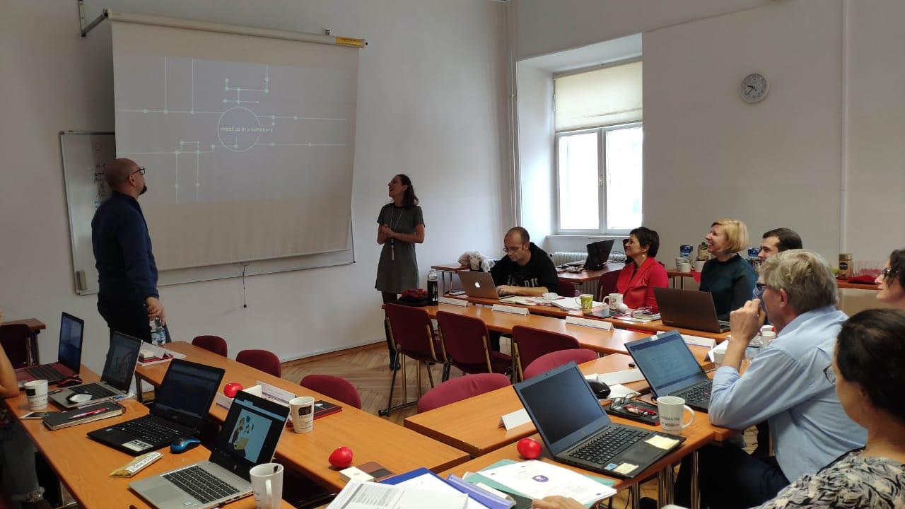 Συνάντηση για το SLOW LEARNING 1