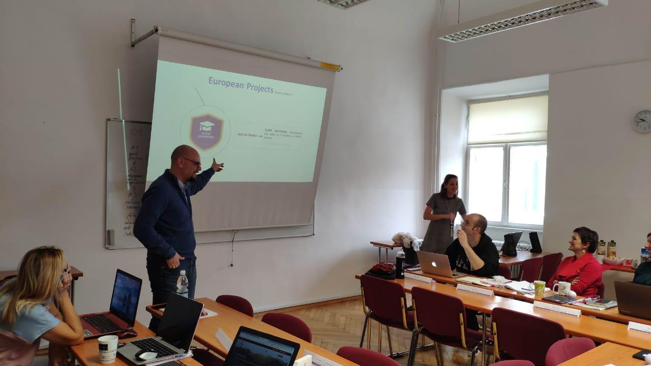 Συνάντηση για το SLOW LEARNING 4