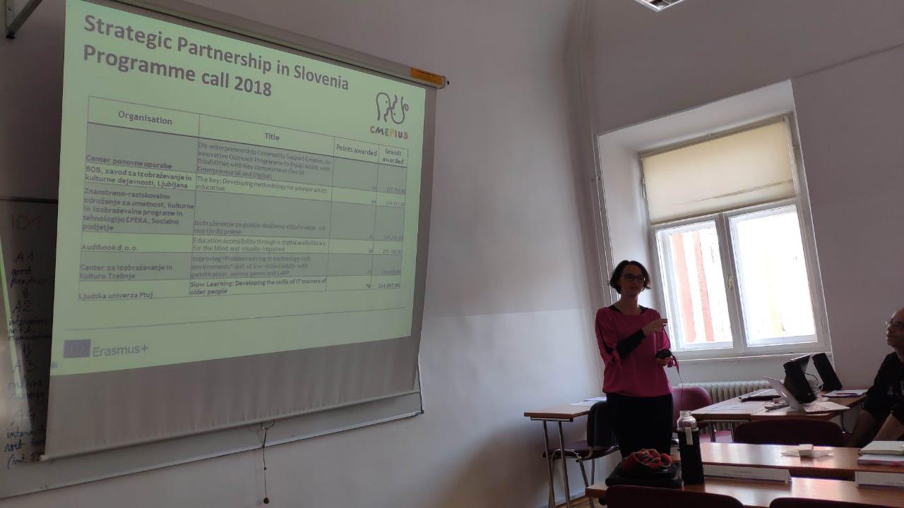 Συνάντηση για το SLOW LEARNING 6