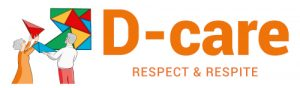 D-Care Respect and Respite logo white