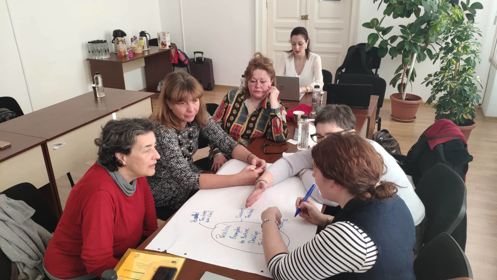"""Joint Staff Training in """"MAGICSENS"""" Project 1"""