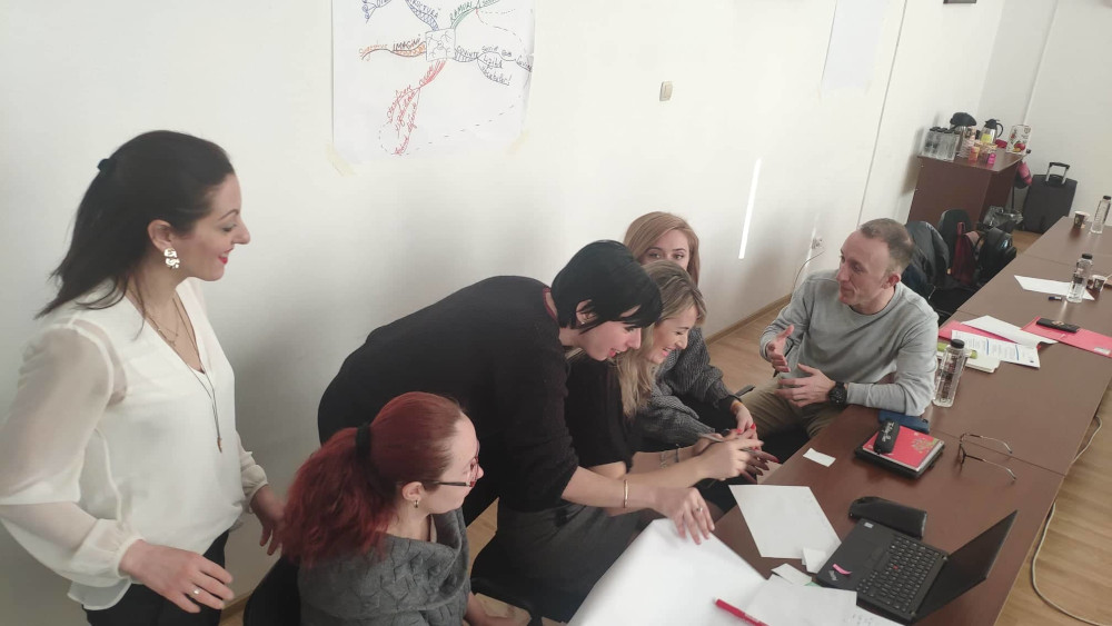 """Joint Staff Training in """"MAGICSENS"""" Project 3"""