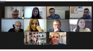 Online συνάντηση του Έργου AIDA 3