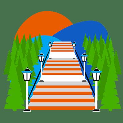Patras Agiou Nikolaou Street Stairs
